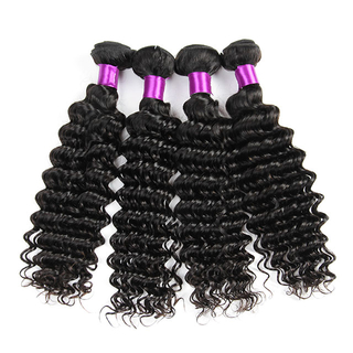 Wholesale Unprocessed Hair Brazilian Deep Wave Human Hair Extension