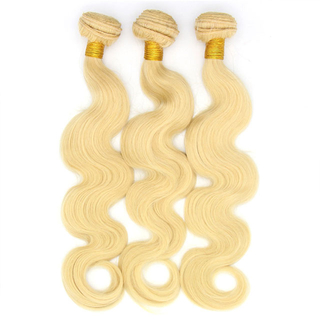 Brazilian human hair 613 blonde Body Wave Hair Extension