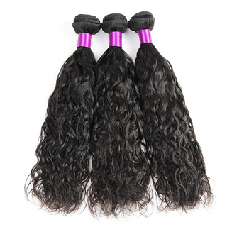 Brazilian human hair Natural Wave Hair Extension