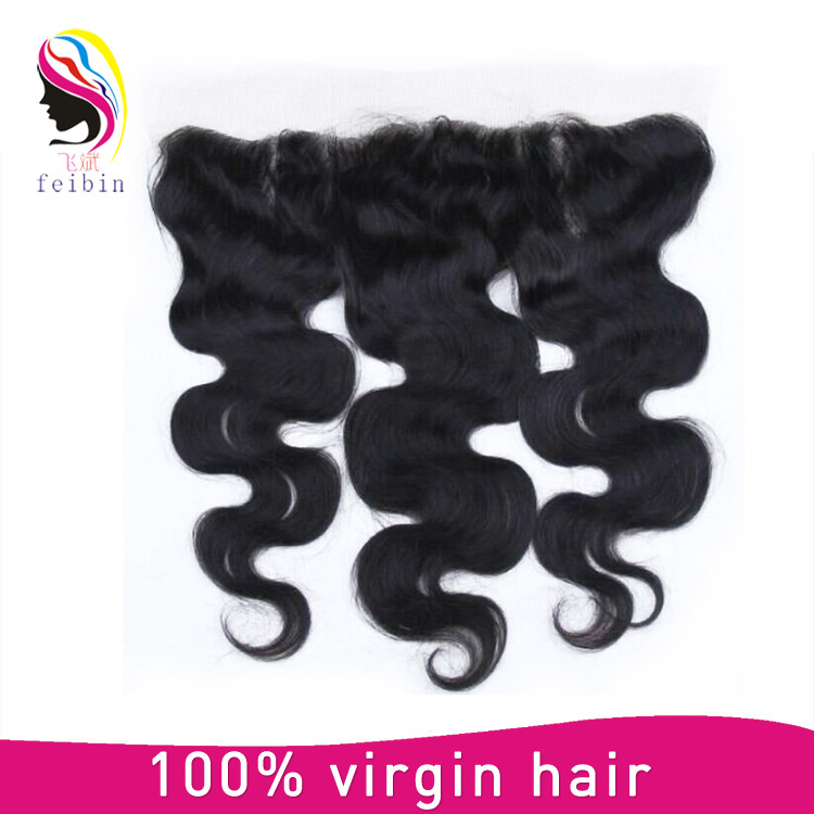 Virgin Malaysian Hair 13*4 Body Wave Frontal Lace Closures